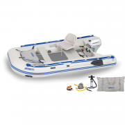 Sea Eagle 106sr Sport Roundabout Inflatable Boat Honda Motor