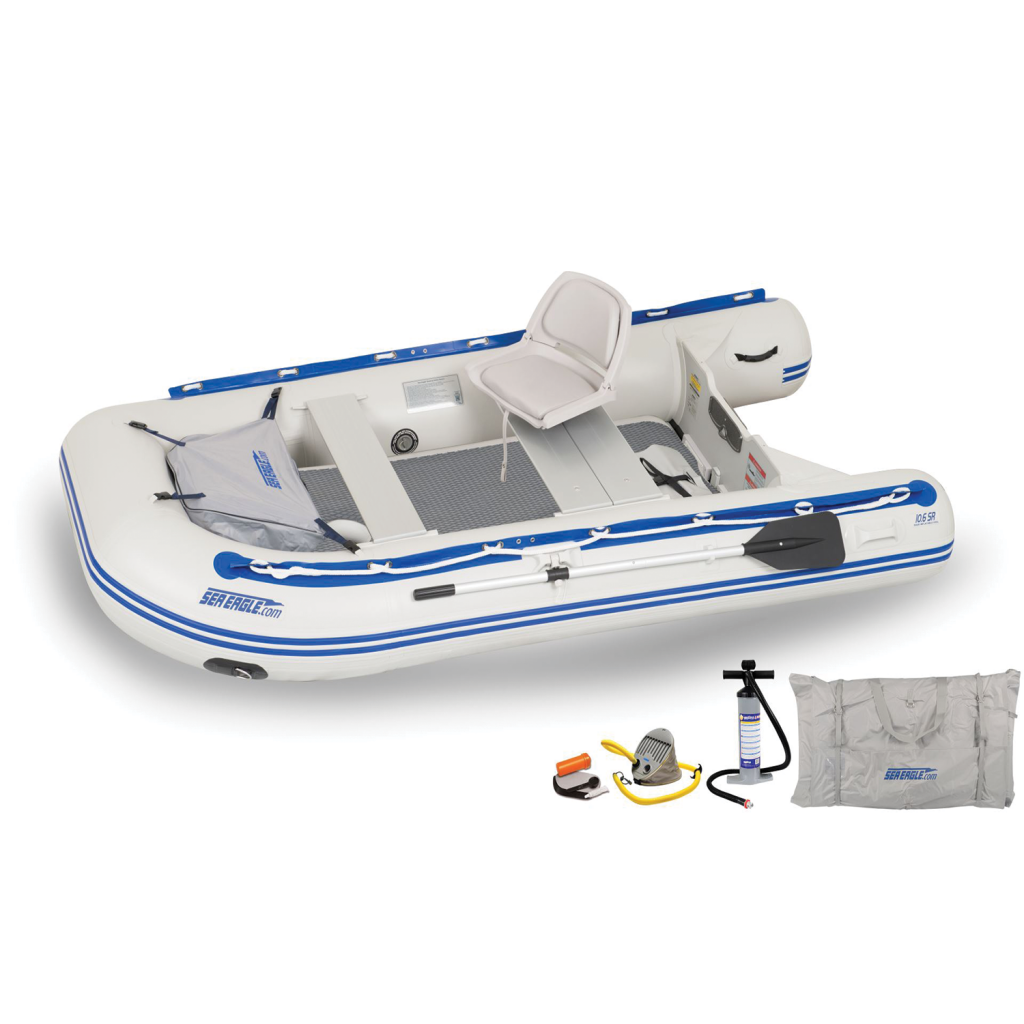 Sea Eagle 106sr Sport Roundabout Inflatable Boat Swivel Seat