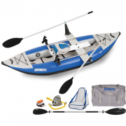 300x Explorer Inflatable Kayak QuickRow