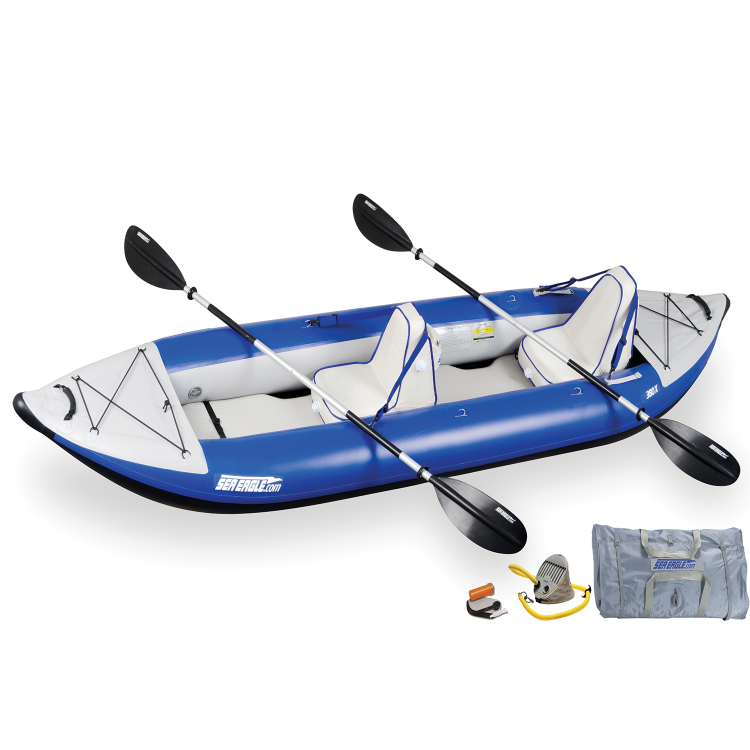 380 Deluxe Inflatable Kayak