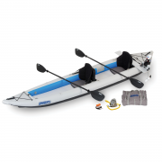 Sea Eagle 465 FastTrack Inflatable Kayak with Motor
