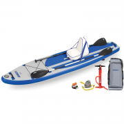 Longboard 11 Inflatable Standup Paddleboard Sit Down
