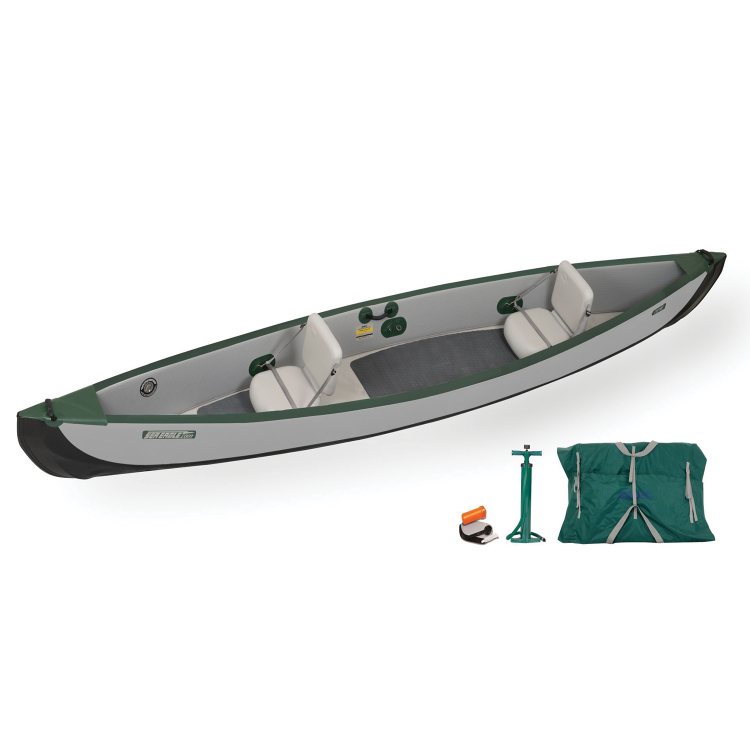 Sea Eagle Travel Canoe 16 Inflatable Canoe Basic