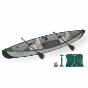 Sea Eagle Travel Canoe 16 Inflatable Canoe 2 person startup