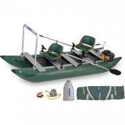 Frameless Pontoon Boat Watersnake Motor