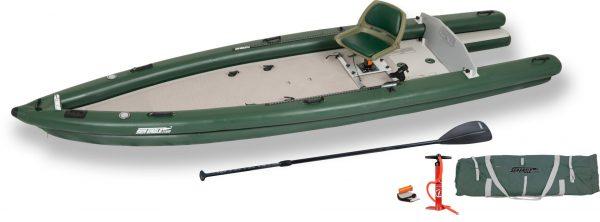 Inflatable FIshing Boat Fishskiff 16 Solo